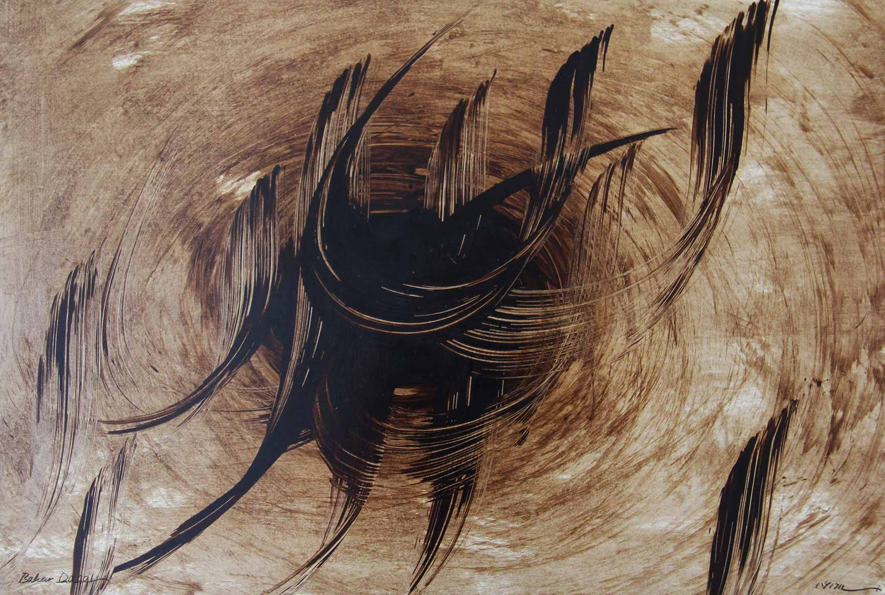 Painting-Calligraphy by Bahar Daee